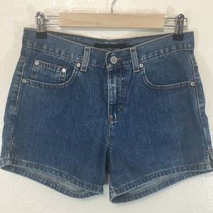 Calvin Klein Jeans Blue Denim Shorts Side Slit 2